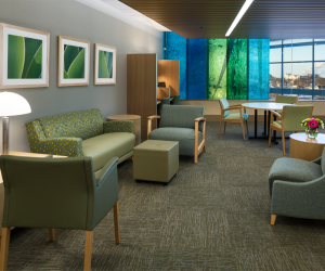 Gundersen Health System - Critical Care Unit Patient Lounge Area