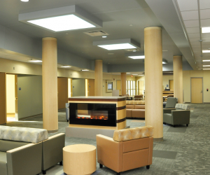 Gundersen Health System - Behavioral Health Patient Lounge