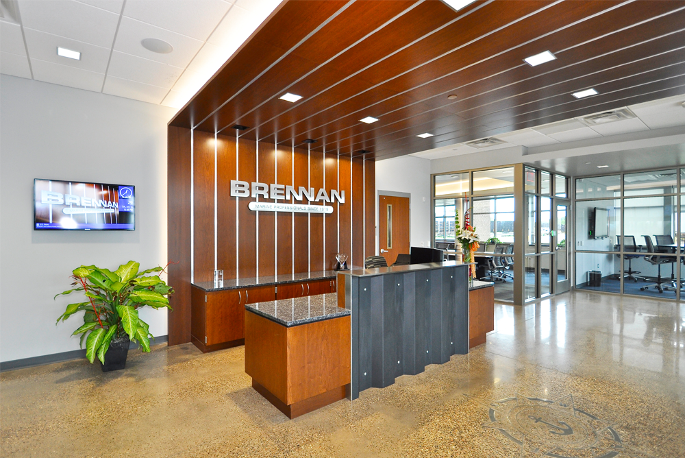 J.F. Brennan Company, Inc. Headquarters Main Lobby