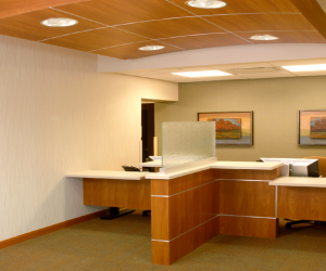 Mayo Clinic Health System - Holmen Clinic Patient Reception Area
