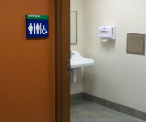 Mayo Clinic Health System - Procedure Clinic Restroom