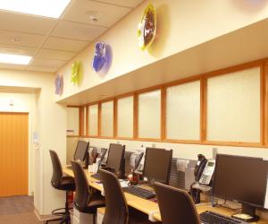 Mayo Clinic Health System - Sparta Clinic Reception Staff Area
