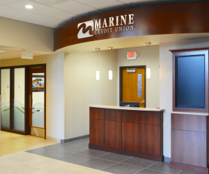 Marine Credit Union Administration Building Main Lobby