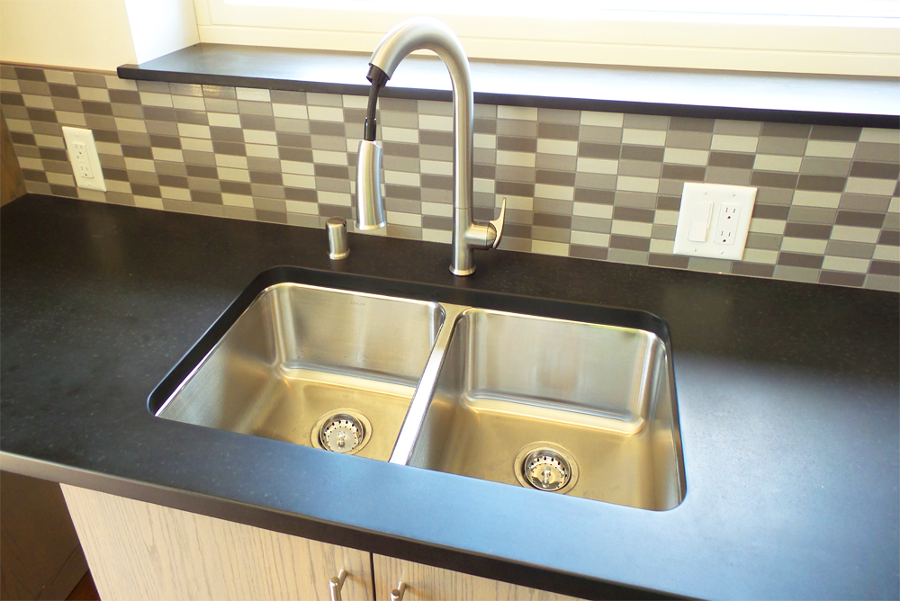Western Technical College Passive House Sink Area