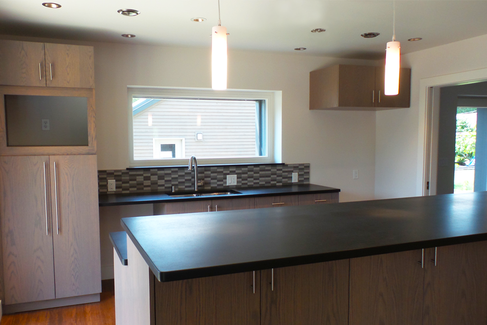 Western Technical College Passive House Kitchen Area