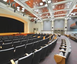 University of Wisconsin - La Crosse Graff Main Hall Stage/Seating View