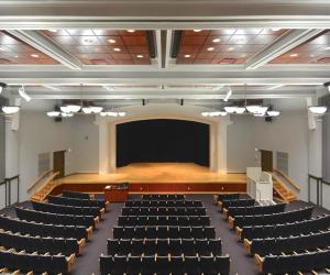 University of Wisconsin - La Crosse Graff Main Hall Stage View