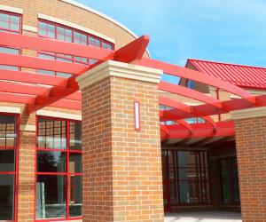 Northside Elementary School Steel Pergola