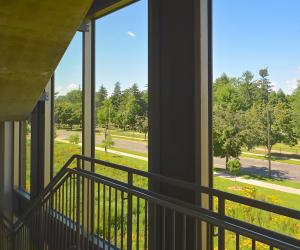 UW-L Campus Parking Ramp Stairwell 2