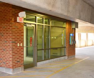 UW-L Campus Parking Ramp Stairwell