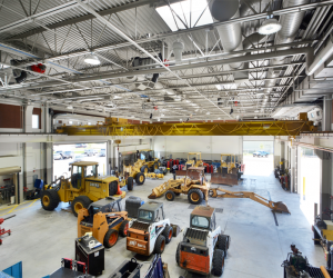 WTC Diesel & Heavy Equipment Technology Center Equipment Bay