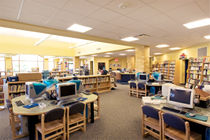 School District of Onalaska - Irving Pertzsch Elementary School Library Media Center