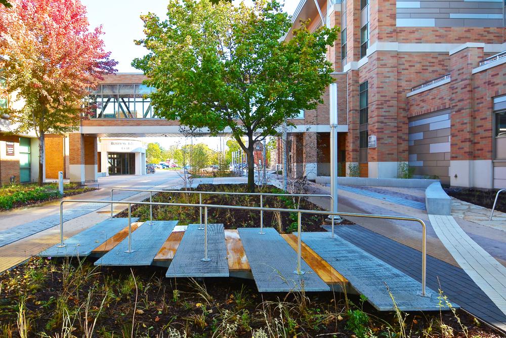 WTC La Crosse Campus Site Improvements - Courtyard 1