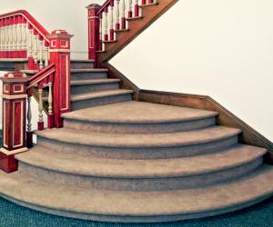 Christ Episcopal Church Staircase