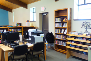 F.J. Robers Library Computer Lab