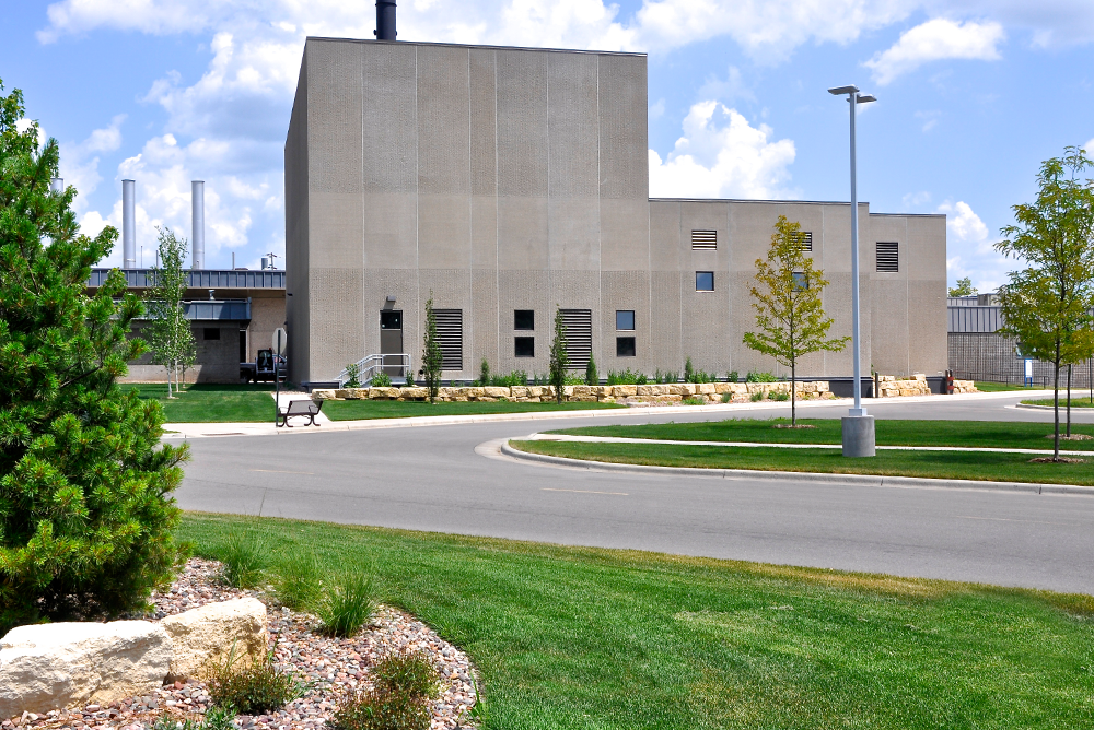 Gundersen Health System - Biomass Boiler Exterior 3