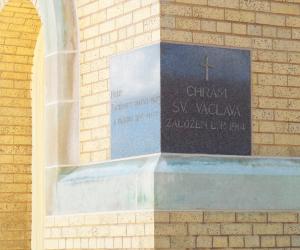 Viterbo University San Damiano Chapel Dedication Stone