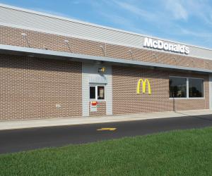 McDonald's - George Street Location Exterior Drive Through