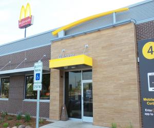 McDonald's - George Street Location Entrance