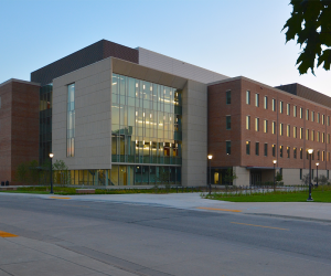 University of Wisconsin - La Crosse - Prairie Springs Science Center - Evening Exterior 2