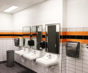 Hillsboro Elementary-Middle-High School Renovation - Restroom