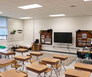 Hillsboro Elementary-Middle-High School Renovation - Classroom 1